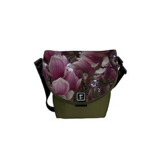 Messenger Bag - Saucer Magnolia