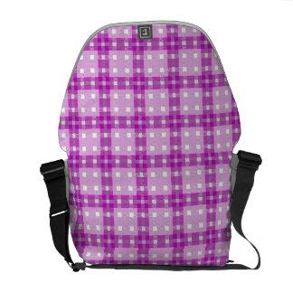 Messenger Bag seamless pattern tartan