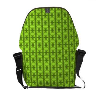 Messenger bag seamless retro pattern