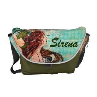 "Messenger Bag ""SeaShells by the SeaShore Mermaid"""