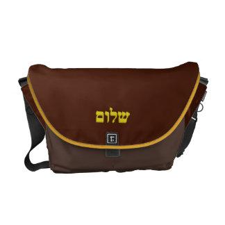 """Messenger bag """"Shalom"""" by Artaliz"""