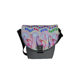 Messenger Bag  SPIRITUAL SOUL DANCE CARTOONS
