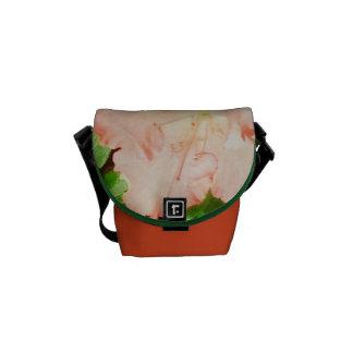 Messenger Bag - Sunlit Peach Azaleas