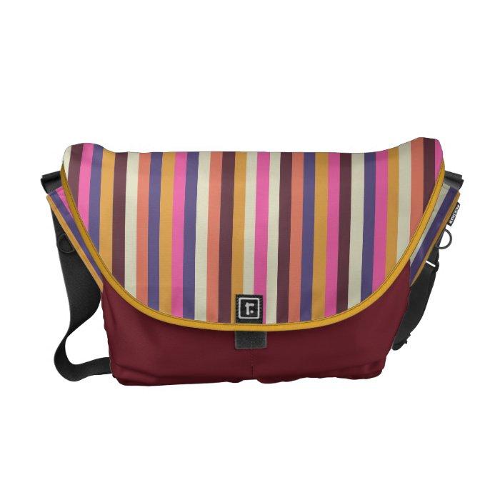 Messenger Bag - Sunset Stripes