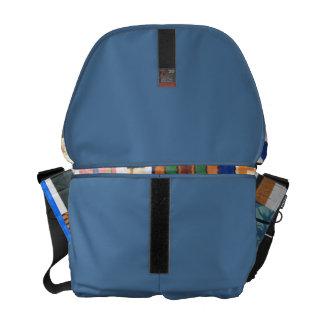 Messenger Bag  with shoulder strap by Latanya S.