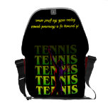 Messenger Bag Women's Tennis 1 YG Dark or Light