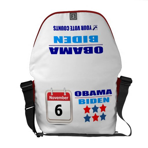 Messenger Bag - Your Vote Counts