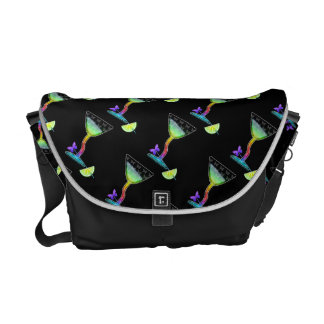 MESSENGER BAGS - BUTTERFLY MARTINI