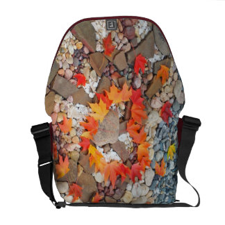 Messenger Bags Christmas Gifts Heart Leaves