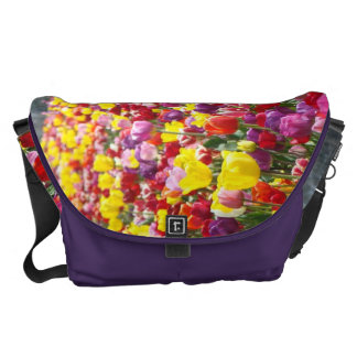 Messenger Bags gifts Colorful Tulip Flowers