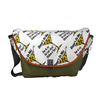 MESSENGER BAGS - MEDIUM or RARE MARTINI OLIVES?