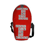 KEEP CALM AND DO SCIENCE  Messenger Bags (mini)