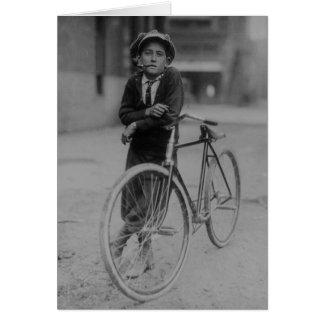 Messenger Boy Card