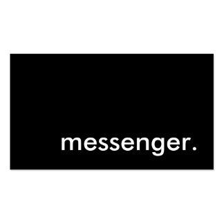 messenger business card