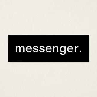 Messenger Business Card