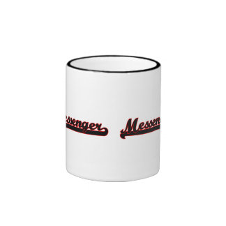 Messenger Classic Job Design Ringer Coffee Mug