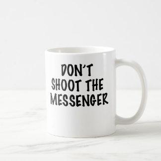 MESSENGER CLASSIC WHITE COFFEE MUG