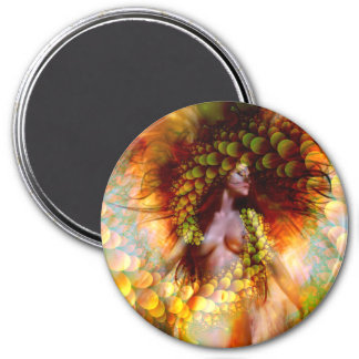 Messenger of Love 3 Inch Round Magnet