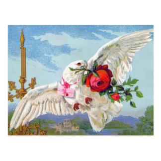 Messenger of Love Postcard