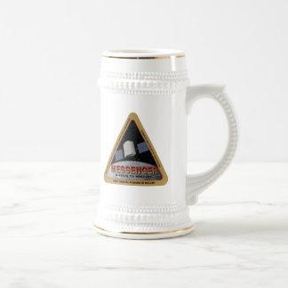 MESSENGER - Orbital Mission To Mars Beer Stein