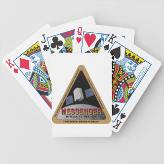 MESSENGER - Orbital Mission To Mars Bicycle Playing Cards