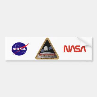 MESSENGER - Orbital Mission To Mars Bumper Sticker
