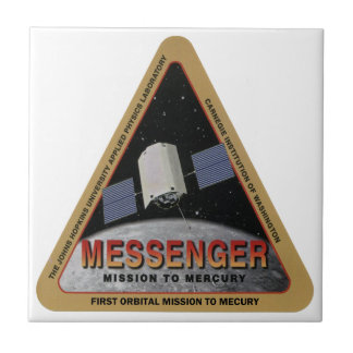 MESSENGER - Orbital Mission To Mars Ceramic Tile