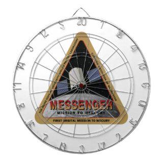MESSENGER - Orbital Mission To Mars Dart Board