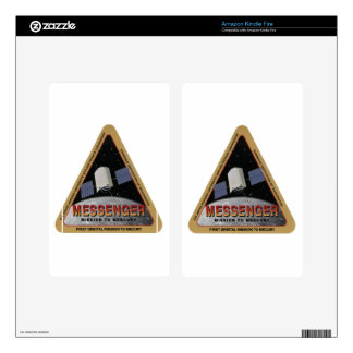 MESSENGER - Orbital Mission To Mars Kindle Fire Decals