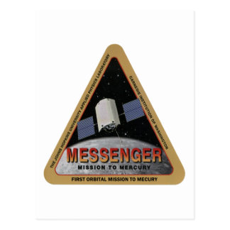 MESSENGER - Orbital Mission To Mars Postcard