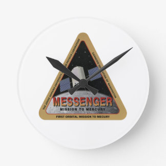 MESSENGER - Orbital Mission To Mars Round Clock