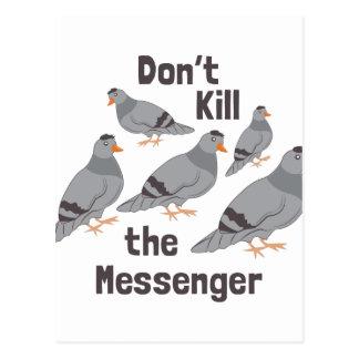 Messenger Pigeon Postcard
