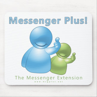 Messenger Plus! Buddies Mouse Pad