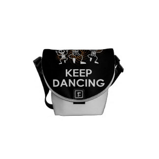 Messenger stock market pq Keep Calm Courier Bag