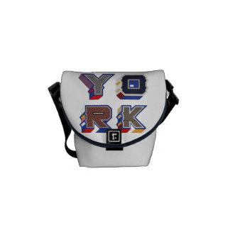 "Messenger stock market ""York "" Courier Bag"