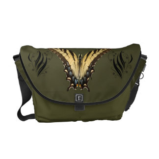 Messengerbag del este de la mariposa de Swallowtai Bolsa Messenger