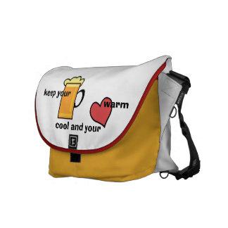 messengerbag keep your bear cool courier bag