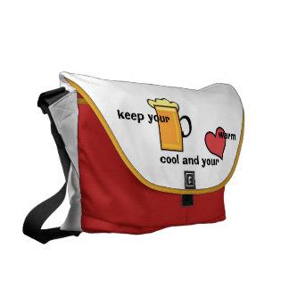 messengerbag keep your bear cool messenger bag