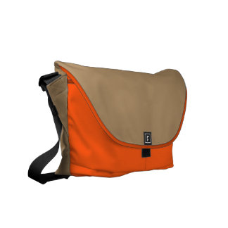 Messengerbag with gold outside courier bags