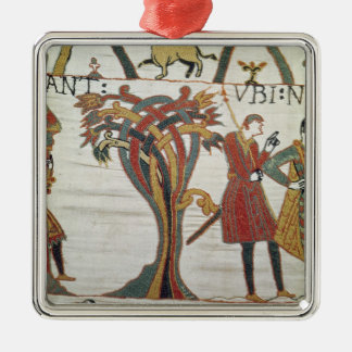 Messengers of Duke William came to find Count Metal Ornament