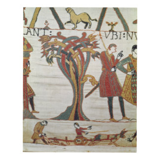 Messengers of Duke William came to find Count Panel Wall Art