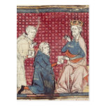 Messengers telling Charlemagne Postcard