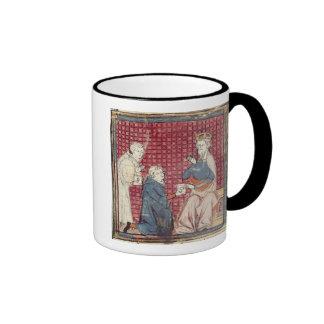 Messengers telling Charlemagne Ringer Mug