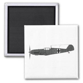 Messerschmitt BF-109 Imán Cuadrado