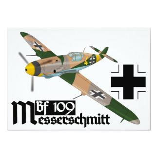 Messerschmitt Bf 109 Luftwaffe Card