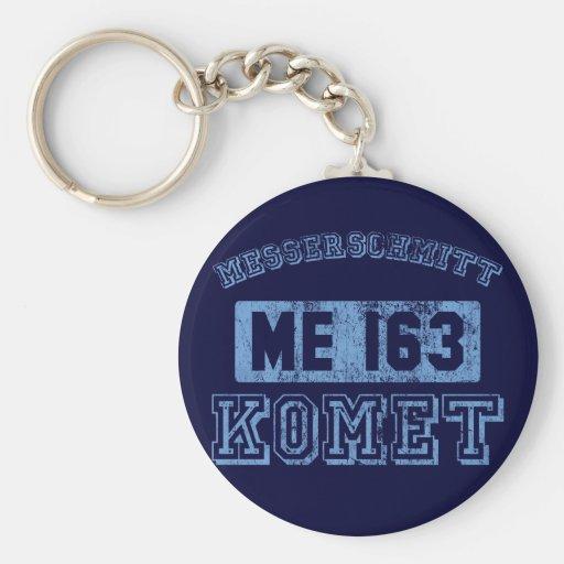 Messerschmitt Komet Llavero Redondo Tipo Pin