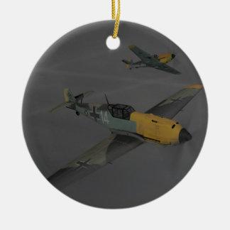 Messerschmitt ME109 Ceramic Ornament