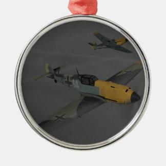 Messerschmitt ME109 Metal Ornament