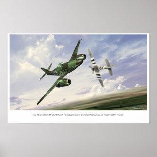 Messerschmitt Me 262 Poster