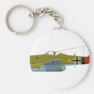 Messerschmitt Me-262 Swallow Key Chain
